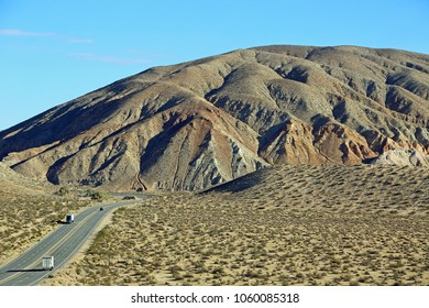 El Paso Mountains - Red Rock Canyon State Park, Mojave Desert, California