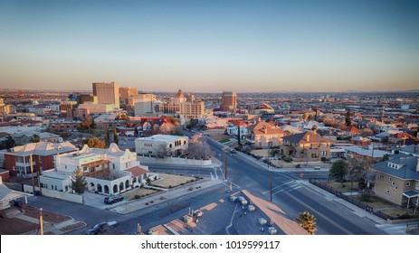 El Paso, TX Skyline