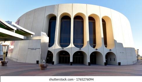 El Paso, TX/United States - January 23rd, 2020: Abraham Chavez Theatre