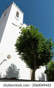 El Port de la Selva Girona Catalonia Spain the parish church