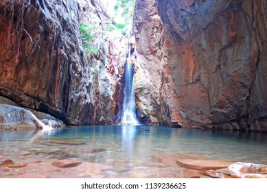 El Questro Gorge and waterfall