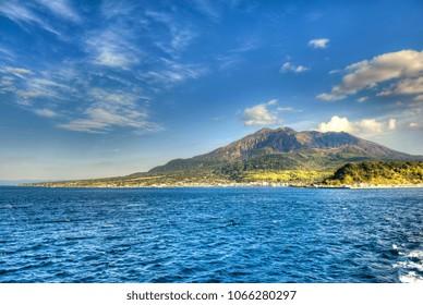 El volcán Sakurajima - Japón