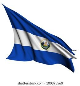 El Salvador flag- collection no_4