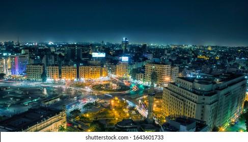 el tahrir square in egypt