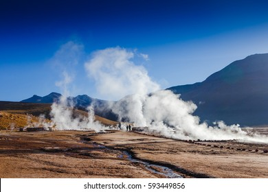 El Tatio Geysers, northern Chile, Atacama Region