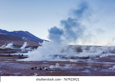El Tatio Geysers, northern Chile, Atacama Region