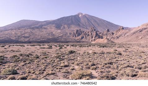 El Teide landscape view