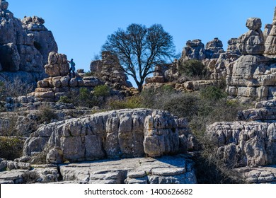 El Torcal de Antequera is a nature reserve located to the south of the city of Antequera, in the province of Andalusia. Spain