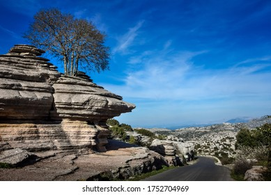 El Torcal National Geological Park Andalusia Spain