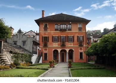 Elaborate villa, Italy