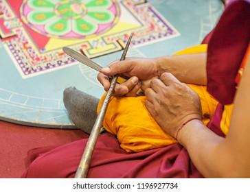 elaboration of a Tibetan mandala