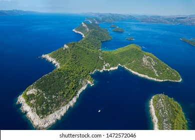 Elafiti islands in Dubrovnik region, Croatia