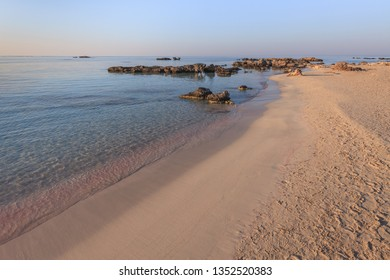 Elafonisi, one of the most famous beaches in the world, Crete, Greece