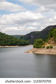 Elan Vallay Dam Mid Wales, UK