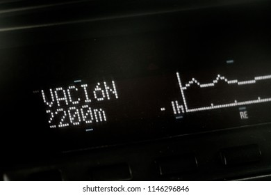 Elavation indicator marking 2200 m.s.n.m.