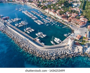 Elba Island, port of Marciana Marina