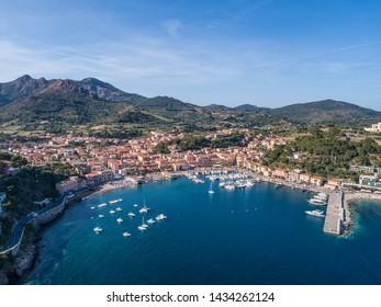 Elba Island, Village of Porto Azzurro. Tuscany (Italy)