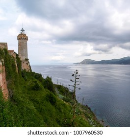 Elba, Italy: Lighthouse Portoferraio. The lighthouse was built by the Lorena made between 1788 and 1789 and renovated in 1915.
