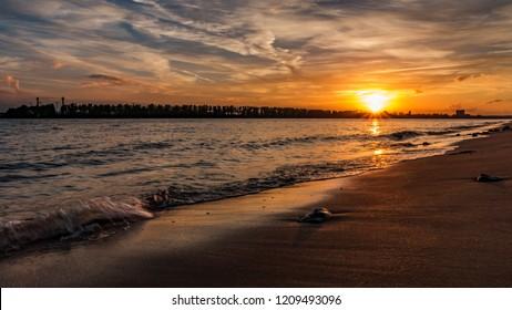 elbe beach in Hamburg