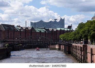 Elbe Philharmonic Hall in Hamburg in Germany