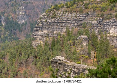 The Elbe Sandstone Mountains are a sandstone massif on the upper reaches of the Elbe River in Germany and the Czech Republic. Czech Bohemia or Saxony in Germany.