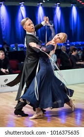 Elblag, Poland - October 14, 2017 - Baltic Cup Dance Competition. International dance tournament in Elblag