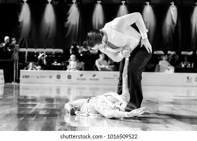 Elblag, Poland - October 15, 2017 - Baltic Cup Dance Competition. International dance tournament in Elblag