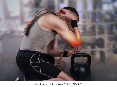 Elbow injury in athletes during weight lifting, Weight-lifting