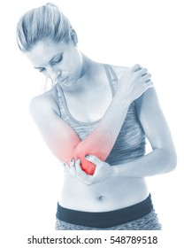 Elbow pain is often caused by overuse. Many sports, hobbies and jobs require repetitive hand, wrist or arm movements. May occasionally be due to arthritis.