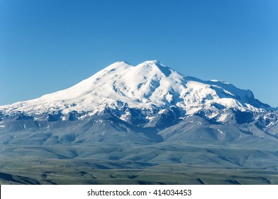 Elbrus, mountains in summer