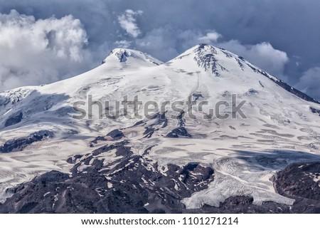 Elbrus region a mountain