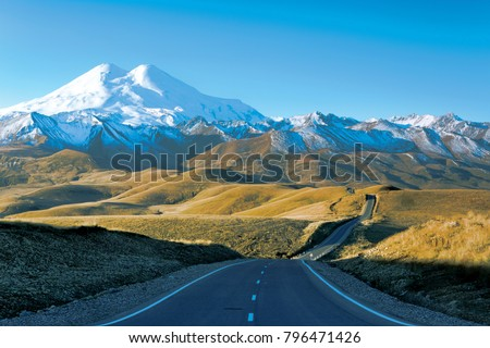Elbrus region Russia Elbrus