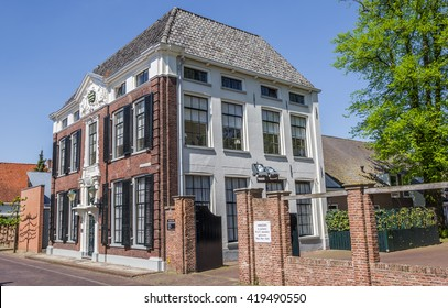 ELBURG, NETHERLANDS - MAY 9, 2016: Rebuild former orphanage