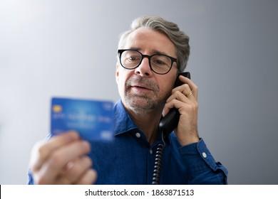 Elder Senior Scam Call. Pension Finance Fraud