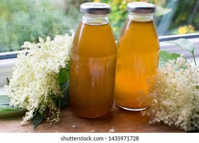 Elderflower Sirup Cordial floral healthy