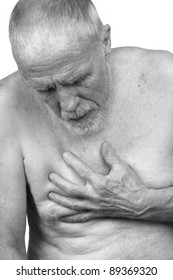 Elderly Man with Chest Pain