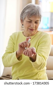 Elderly Person With Perfume