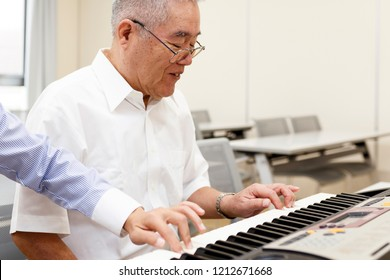 For the elderly and piano