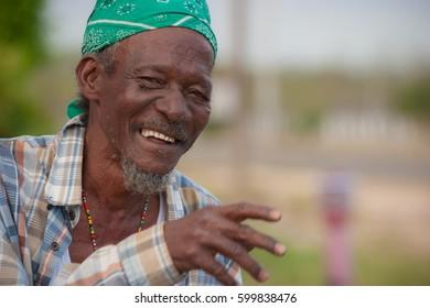 Elderly Rastafarian Man from Jamaica