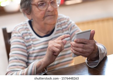 Old Person On Phone Images Stock Photos Vectors Shutterstock