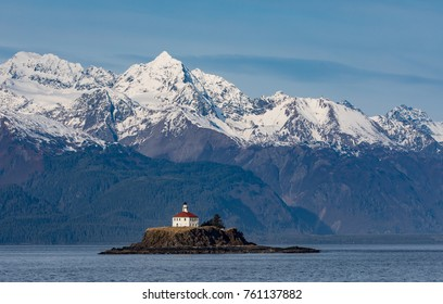 The Eldred Rock Lighthouse is an historic octagonal lighthouse adjacent to the Lynn Canal, Haines, Alaska.
