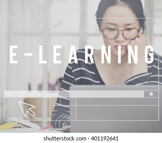 E-learning Education Online School Concept