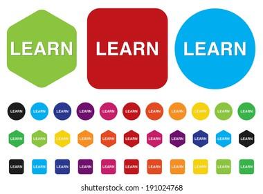 e-learning web icon