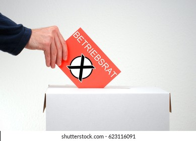 Election for employee representatives in german language