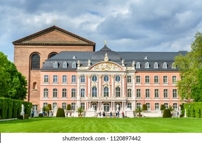 The Electoral Palace and the Basilica of Constantine in Trier - Rhineland-Palatinate, Germany