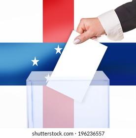 electoral vote by ballot, under the Netherlands Antilles flag