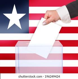 electoral vote by ballot, under the Liberia flag