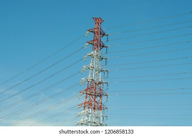 electrial wire and tower