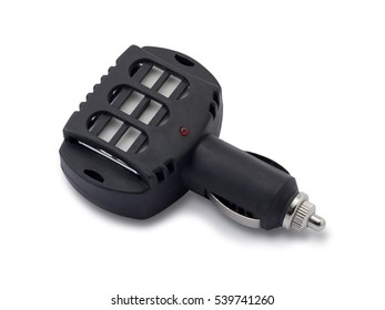 Electric air freshener for car isolated with clipping path