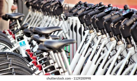 electric bicycles for rent.